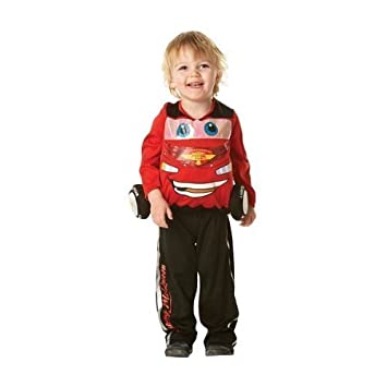 Small Boys Cars Lightning Mcqueen Padded Costume  sc 1 st  Amazon.com & Amazon.com: Small Boys Cars Lightning Mcqueen Padded Costume: Toys ...