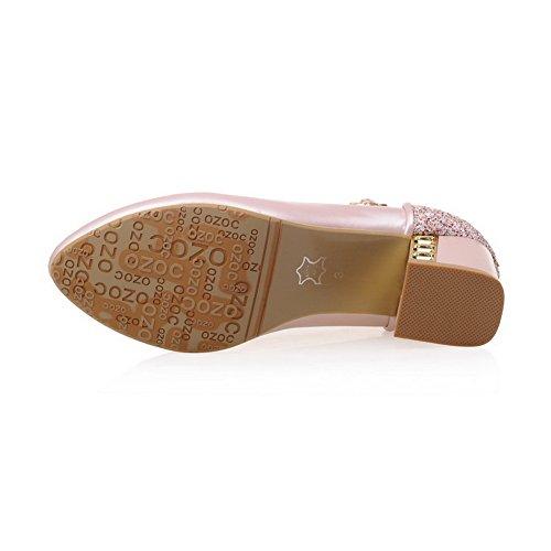 Zapatos AdeeSu Para Rosado cerrados mujer Hxqa1R
