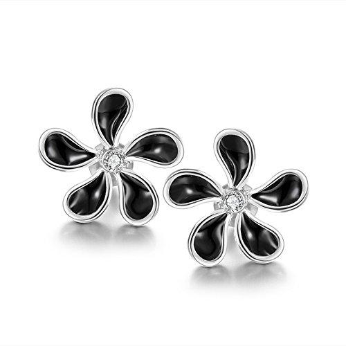 Women Fashion Gold Plated flower Stud Earrings Best Gifts Gail D. Billings