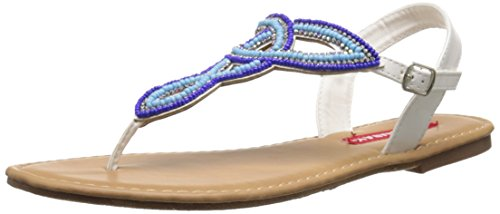 Union Bay Women's Solar Dress Sandal, Blue Multi, 6.5 M US