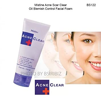 Clear facial acne