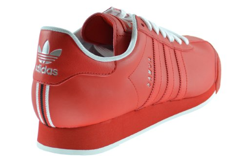 364ce9202f4d Adidas Originals Samoa Men s Sneakers Poppy Red Running White d74120 ...