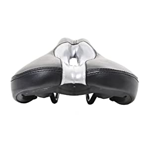 Gavin Gel Foam Anatomic Relief Bike Saddle Bicycle Seat w/ Extra Wide Cutout