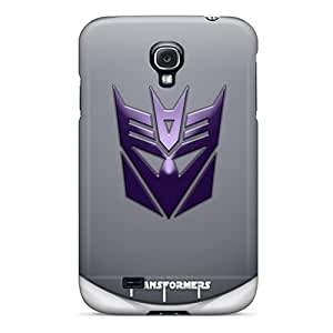 Best Hard Phone Cases For Samsung Galaxy S4 (ygg2766dLae) Allow Personal Design Trendy Decepticons Logo Pattern