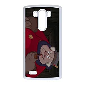 LG G3 Cell Phone Case White Disney Pinocchio Character The Coachman IDQ