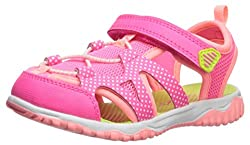 Vida Shoes International Carter's Baby Zyntec Boy's & Girl's Athletic Sport Sandal, Pink, 6 M Us Toddler