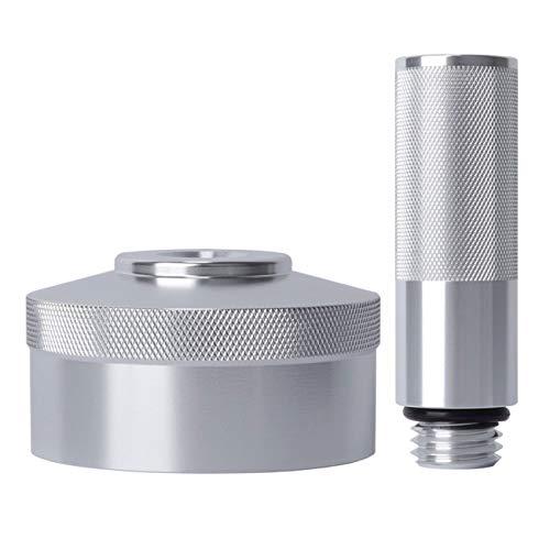 E-cowlboy Silver Aluminum Extended Run Gas Cap, Mess Free Oil Change Funnel for Honda Generator EU2000i EU1000i (Complete Kit)