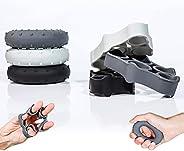 Finger Stretcher Resistance Bands,Hand Grip Strengtheners Pack of 6, Forearm Grip Workout, Finger Stretcher, R