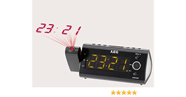 Proyector de reloj radio despertador radio despertador Sensor de ...
