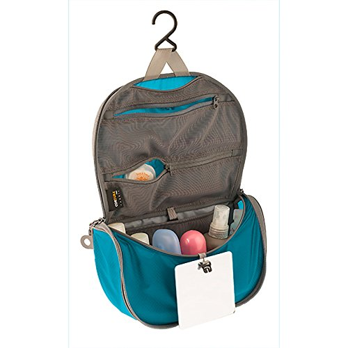 Sea To Summit Travelling Light Hanging Toiletry Bag - Pacific Blue Small