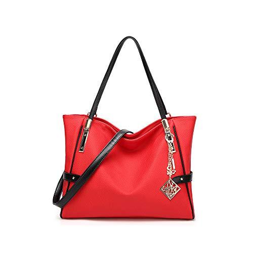 Viaje Ligera Mujer Bolso Mochila Para De Bandolera Mensajero Mujer Moda Rojo Audburn Casual qZvgwp
