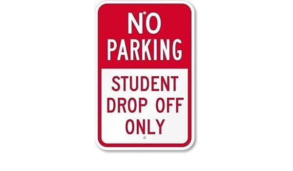 Sophomore Parking Only Gift Decor Novelty Garage Metal Aluminum Sign