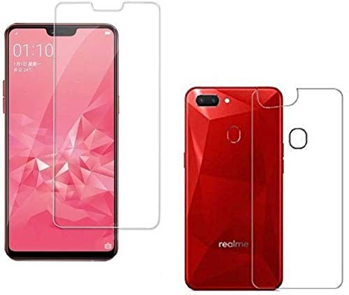 Oppo Realme 2 (Front and Back) Unbreakable Flexible Tempered Glass  Guard/Impossible Glass Guard (Front and Back) for 0PP0 Real Me 2  (Transparent)