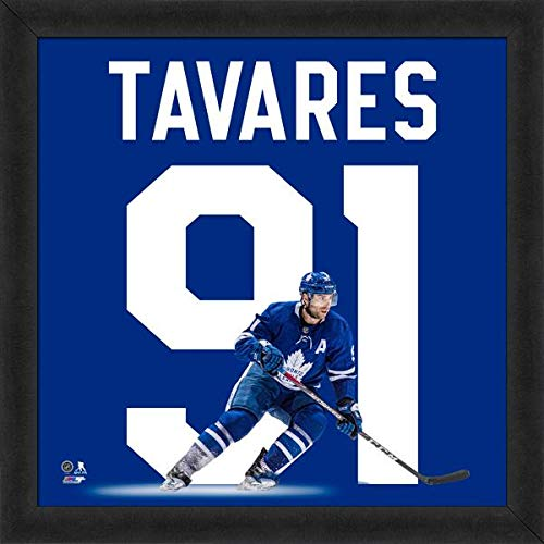(John Tavares Toronto Maple Leafs UniFrame Photo (Size: 20