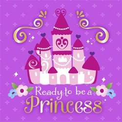 Sofia the First Party Supplies - Sofia Lunch Napkins - 16 -