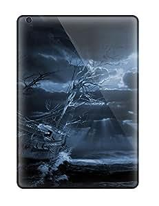 Gabrielbhun Case Cover Protector Specially Made For Ipad Air Ship Fantasy Abstract Fantasy
