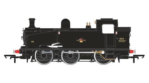 Hornby R3406 0-6-0T Departmental No.14 J50 Class Late BR Train Model Set