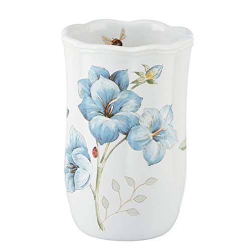 Lenox Butterfly Meadow Floral Garden Tumbler, Blue from Lenox
