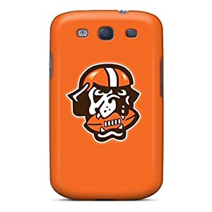 Galaxy High Quality Tpu Case/ Cleveland Browns 6 OzJ2391oXip Case Cover For Galaxy S3