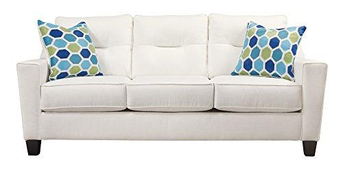 Benchcraft Forsan Sofa in White – 6690438