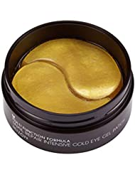 Mizon Snail Repair Intensive Gold Eye Gel Patch (60ea) Eye Treatment Mask Reduces Wrinkles and Puffiness, Lightens Dark Circles, 24k Gold and Snail Slime Extract, Intensive Care, Moisturizing Hydrogel