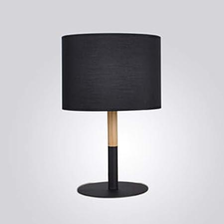 Lámpara de mesa de madera maciza: protección simple para los ojos ...
