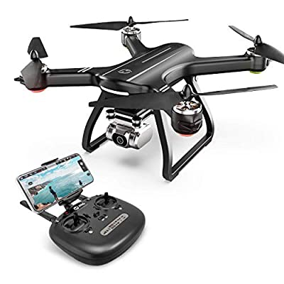 Holy Stone HS700D FPV Drone with 2K FHD Camera Live Video and GPS Return Home, RC Quadcopter for Adults Beginners with Brushless Motor, Follow Me, 5G WiFi Transmission, Modular Battery Advanced Selfie