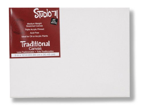 UPC 082676506901, Darice Studio 71 9-Inch-by-12-Inch Traditional Canvas
