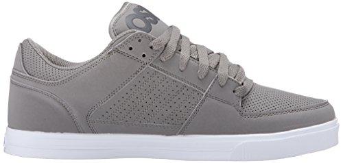 Osiris Mens Protocol Skate Shoe Grigio / Bianco