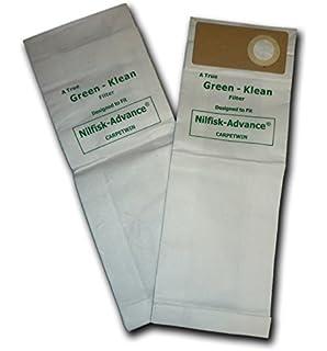 Amazon.com: Verde Klean gk-uz930 repuesto bolsas de ...