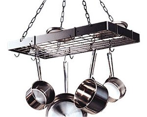Pot Rack Finish: Bronze / Black