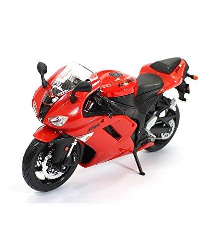 1:12 Scale Special Edition Motorcycle - Green Kawasaki Ninja ZX-6R