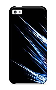 Belva R. Fredette's Shop New Style 4351402K77042993 Snap On Case Cover Skin For Iphone 5c(blue N Red)