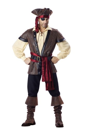 Rustic Mens Costumes (Rustic Pirate Adult Large Costume Item - Incharacter)