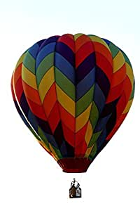 Wallmonkeys WM333235 Hot-air Balloon Peel and Stick Wall Decals (12 in H x 8 in W)