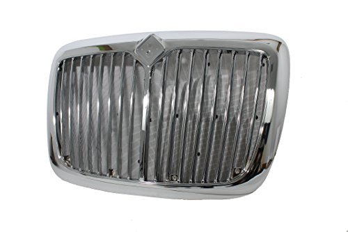 International Prostar Grille with Bug Screen Triple Plated Chrome