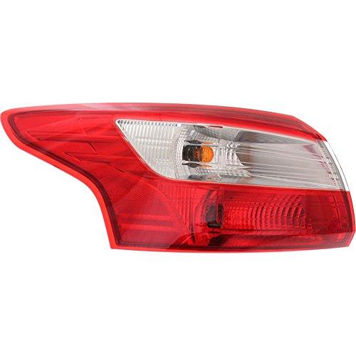 Evan-Fischer EVA156060414342 Tail Light for FOCUS 12-14 Left Side Assembly Sedan