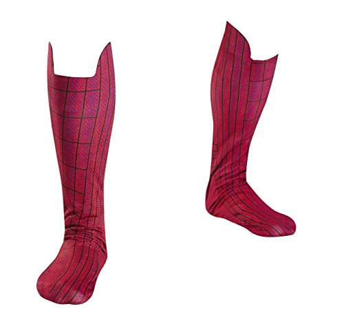 Disguise Marvel The Amazing Spider-Man 3D Movie Adult Boot Covers, Red/Blue, One Size -