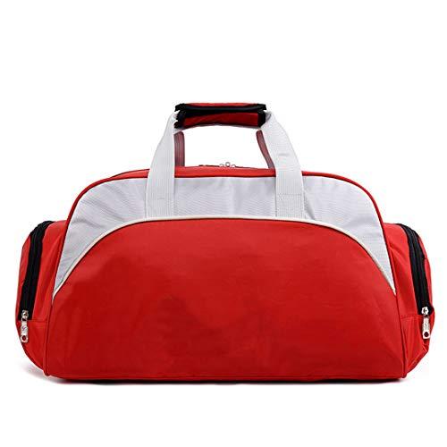 932cc24365c8 KHDRVJ Big Capacity Unisex Waterproof Nylon Travelsport H Bag Single  Shoulder Fitness Bags Gym Bag Bags Red