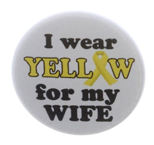 I wear Yellow for my Wife 1.25