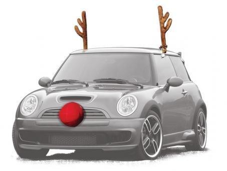 Reindeer Car Kit - Turn Your Car into a Reindeer! -