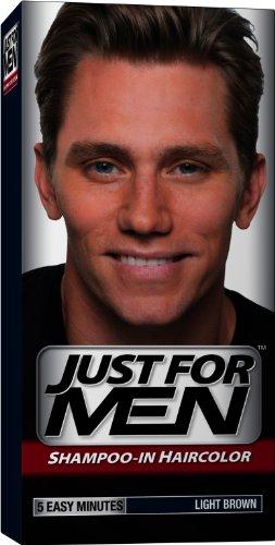 Just for Men shampooing-la couleur des cheveux, Light Brown 25, 1 application (Pack de 3)