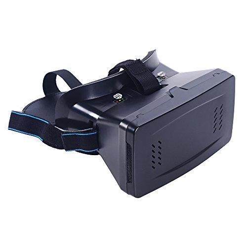"""Andoer Portable Plastic Version 3D VR Glasses Virtual Reality DIY 3D Video VR Glasses with Magnetic Switch Hand Belt for All 3.5 ~ 6.0"""" Smart Phones"""
