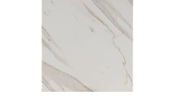 Pietra Calacatta 18 X Porcelain Polished Floor And Wall Tile In High Gloss