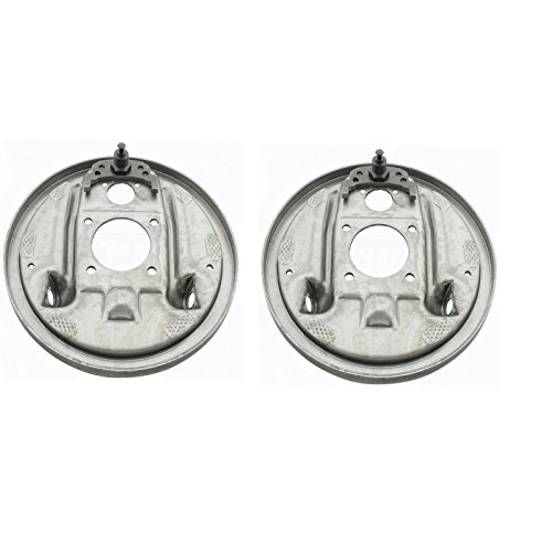 Eckler's Premier Quality Products 50347158 Chevelle And Malibu Rear Brake Backing Plates by Premier Quality Products
