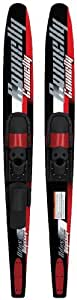 Connelly Odyssey Combo Pair Water Skis with Slide Adjustable Bindings