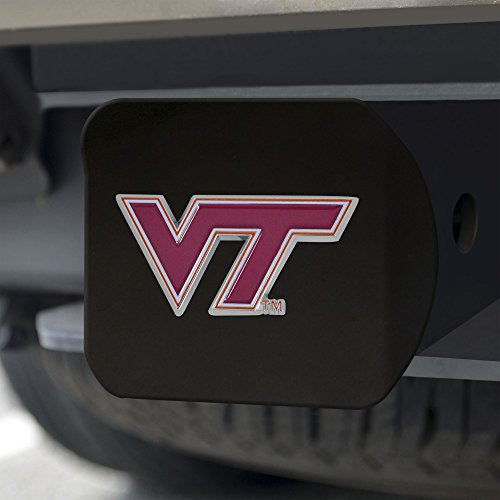 Virginia Tech Cover Hitch (Fanmats NCAA Virginia Tech Hokies Virginia Techcolor Hitch - Black, Team Color, One Size)