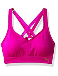 PUMA Girls Big Girls Girls' Seamless Multi-Strap Sports Bra