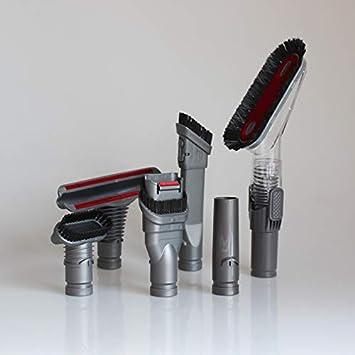 MNSS - Juego de 6 cepillos para aspiradora Dyson: Amazon.es: Bricolaje y herramientas