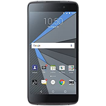 BlackBerry DTEK50 STH100-2 Factory Unlocked Android Phone, Black, US Warranty